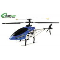 Quality Easy Sky Blue 3 Channel Flying Toy RC Helicopters with Gyroscope Single Blade ES-9011 for sale