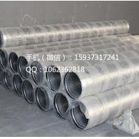 China Hot Sell Johnson type stainless steel 304L wedge wire well sieve screens on sale
