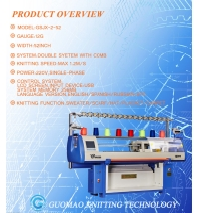 Quality Three System Jacquard 6G Hat Knitting Machine for sale