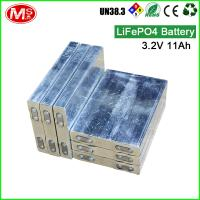 Quality For ship machine rechargeable lithium ion battery 3.2V 11Ah LiFePO4 battery cell for sale