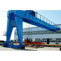 Quality Double Girder Semi-Gantry Crane    Lifting capacity: 5~200t Span: 18~36m Lifting height: 10~33m for sale