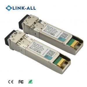 Quality CWDM Transceiver 10G SFP+ Transceiver With 1470nm~1610nm Wavelength 100km for sale