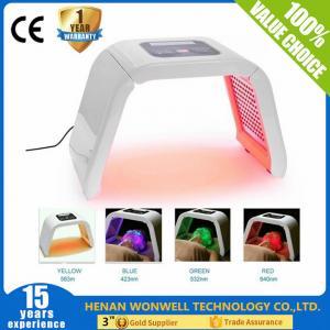 Quality 2017 Hottest light 4 color led face mask light korean skin care machine for sale