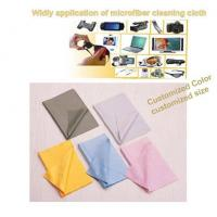 China microfiber glasses cleaning cloth on sale
