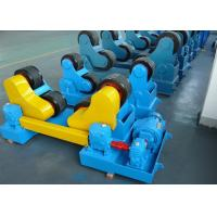 Quality Adjustable Pipe Welding Rollers For Cylinder Welding , VFD Control for sale