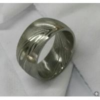 Quality Damascus steel ring for sale