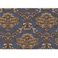 Quality Classical Damask PVC Vinyl Wallpaper Waterproof For Interior Room Decoration for sale