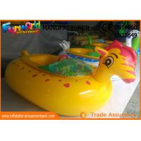 China Adult Electric Inflatable Boat Toys , Animal Shape Motorized Inflatable Bumper Boats on sale