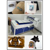 Quality Dtg Printer Automatic T Shirt Printing Machine For Light / Dark Color Clothing for sale