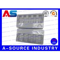 Quality White / Blue / transparent  Plastic Blister Packaging For Glass Vials Packing With Embossing Logo for sale