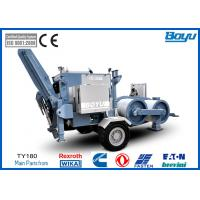 China 19t Overhead  Tension Stringing Equipment Hydraulic Puller with Cummins Diesel Engine on sale