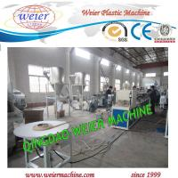 Quality PVC edge band plastic extruder machine line with Online Embossing and printing for sale
