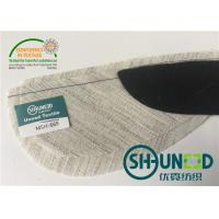 Quality Garment Sleeve Head Roll Fabric With Canvas Dimension Stability , Eco - Friendly for sale