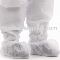 Quality Single Use Nonwoven Shoe Cover With Elastic Opening for sale