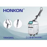 Quality Skin Rejuvenation / Pigment Therapy Q Switched Nd YAG Laser 6ns Pulse Width for sale
