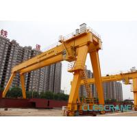 Quality good performance track travelling medium-sized electric hoist gantry crane for sale