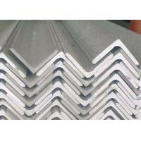 Buy cheap 201 / 304 Stainless Steel Angle , Construction Stainless Steel Equal Angle Bar from wholesalers