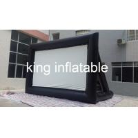 Quality Outdoor Inflatable Movie Screen / Projection Screen For Home Yard Or Advertisement Display for sale
