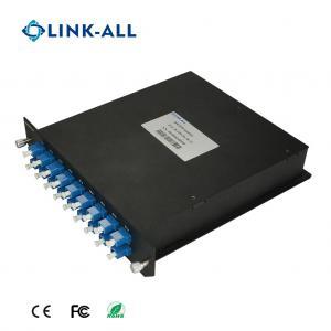Quality Dual Fiber Bi-Direction 18 Services 18 Wavelength CWDM MUX/DEMUX for sale