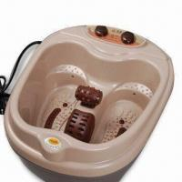 Quality Foot Bath Massager with Ozone Disinfection and Dual Display for sale