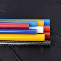 Quality Light Weight Circle Fiberglass Round Tube High Strength For Solar Panel Cleaning for sale