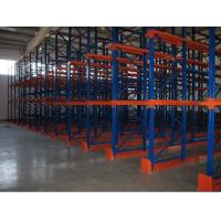 Quality Metal double side Drive In Pallet Racking for cold store , pallet Shelving Racks for sale