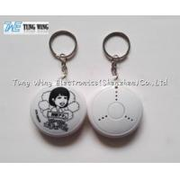 Buy cheap ABS Music Keychain , Music Keyring 2D 3D Process With Customized Logo / Sound from wholesalers