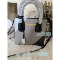 Quality New Knockoff Michael Kors Mercer Grey Genuine Leather Women's Bag for sale