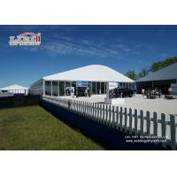Quality White Wedding Party Marquee / Outdoor Clear Span Marquee Hire for sale