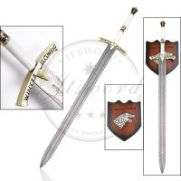 Quality 45.3 book version game of thrones eddard stark ice sword replica for sale