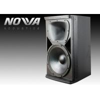 China 12 Inch Pro Audio Passive Full Range Speakers For Nightclub / DJ Stage on sale