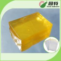 Quality Synthetic polymer resin Medical Dressing Tape Pressure Sensitive Hot Melt Glue Yellow Transparent Color for sale
