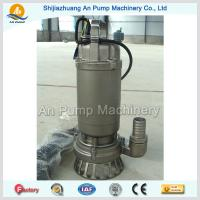 Quality hot sales stainless steel impeller submersible sewage pump for sale