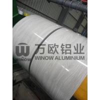 Quality PVDF Paint Wood Pattern Colored Aluminum Foil / Aluminum Sheet Coil ISO9001 for sale