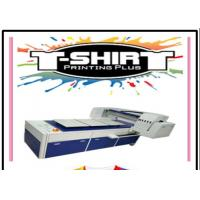 Quality Automatic DTG Flatbed Printer / T Shirt Dtg Printing Machine With Pigment Ink for sale