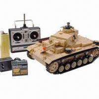 China 1:16 RC Battle Tank, Comes in Tauchpanzer 3 German Style on sale
