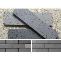 Buy cheap Outside Decorative Brick Veneer Wall Panels Clay Wall Building Material With Rough Surface from wholesalers