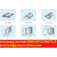 Quality special ceramic backing material for welding steel liner for sale