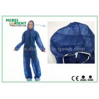 Quality Anti Virus Invading SMS Disposable Coveralls For Surgical Staff for sale