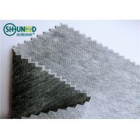 Quality Non Woven Fusible Interlining Fabric Double Dot Coating For Men / Women'S Wear for sale