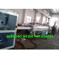Quality 75 - 200mm HDPE Pipe Making Machine Single Screw Extruder for sale