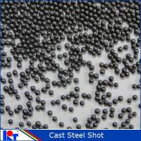 China cast steel shot S550/1.7mm in abrasive for KAITAI on sale
