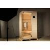 Buy cheap Hemlock Single Person Infrared Sauna, 1300W Personal Home Sauna Kit from wholesalers