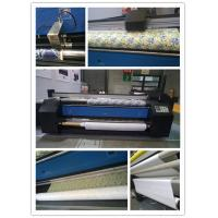 Quality Auto Feed And Roll Up Directly Polyester Fabric Plotter Fabric Printing Machine for sale