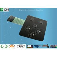 Buy 3D Square Keys Embossing Membrane Switch With ChangJiang Brand Female 2.54, 4 Pin Connectors at wholesale prices