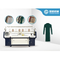 Quality Computerized 1.3KW 16G 1.2m/S Flat Bed Knitting Machine Women Dress Double System for sale