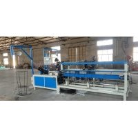 Quality Fully automatic and efficient  PLC control 2m width double wire feeding chain link fence machine for sale