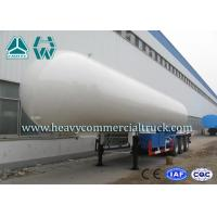 Quality Longlife Pressure Vessel LPG Semi Trailer Reliable Structure Anti - Corrosion Coating for sale