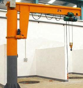 Quality 1 Ton 2 Ton Fix Overhead Jib Crane / Rotary 360 Degree Arm Swing Jib Crane for sale