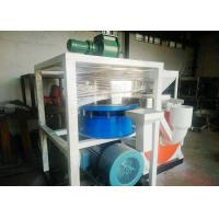 Quality Dust Free Plastic Scrap Cutting Machine 410mm Motor With Wind Conveying for sale